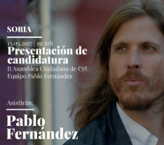 Cartel de Pablo Fernández/ PODEMOS