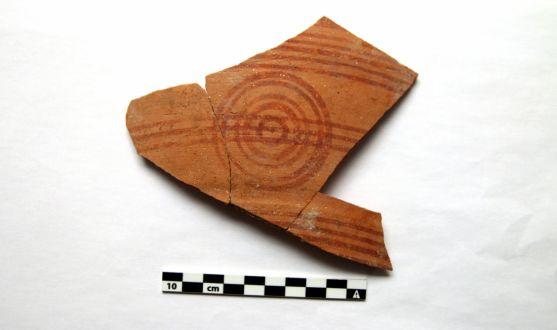 Una de las porciones encontradas en el subsuelo del inmueble. /AMCB