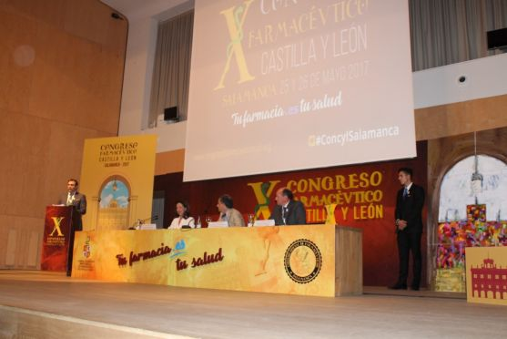 Imagen del X Congreso Farmacéutico de CyL
