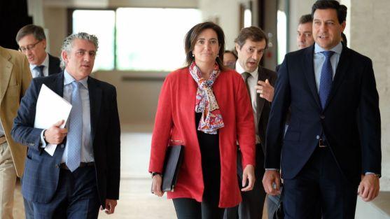 Josefa García Cirac acude este lunes a presentar las cuentas de su Departamento. /Jta.
