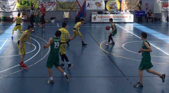 Imagen del partido en Ponferrada.