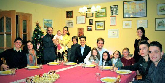 La familia Soto Escanero, al completo. /DOS