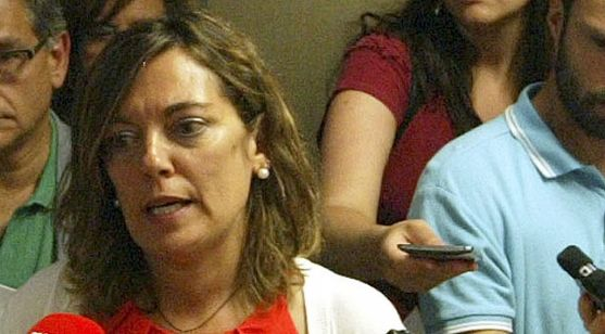La consejera de Agricultura en una visita a Soria. /SN