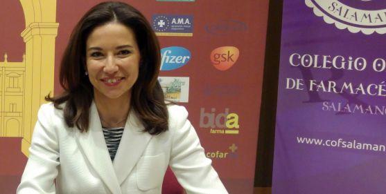La soriana Raquel Martínez, presidenta de los colegios oficiales de farmacéuticos.