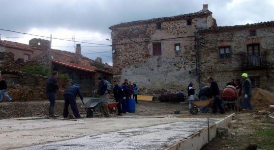 Una imagen de estos días en Sarnago. /AAS