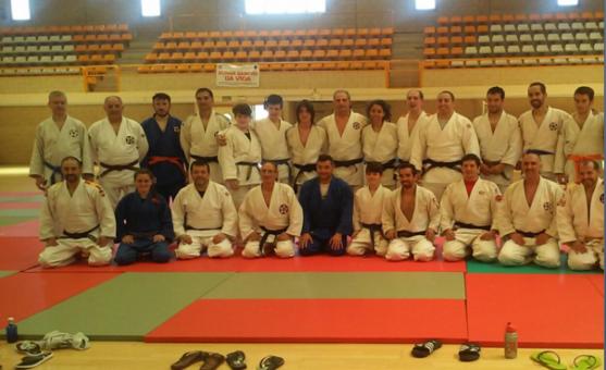 Los participantes al final del entrenamiento/ G.E.S