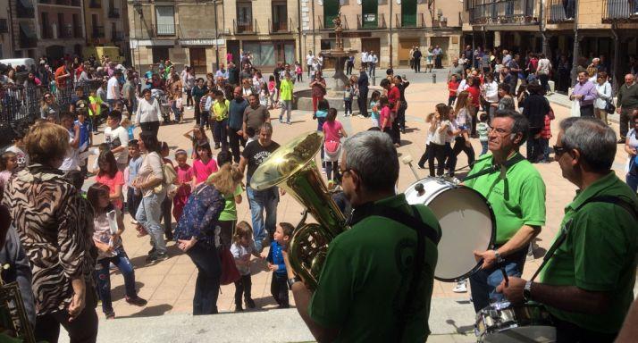 Imagen de la celebración en El Burgo.