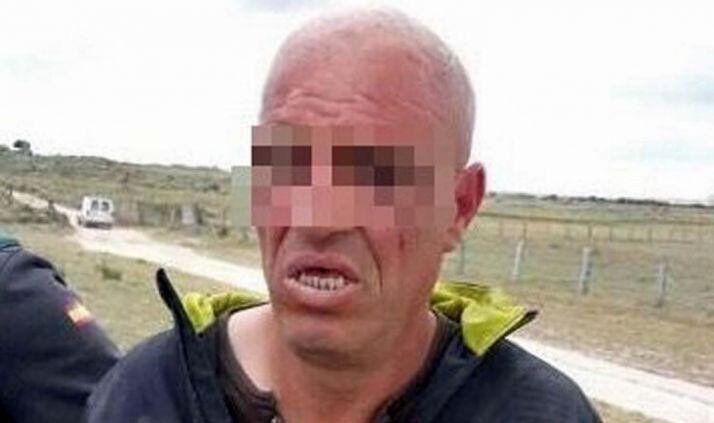 El fugitivo ya detenido. /avilared.com