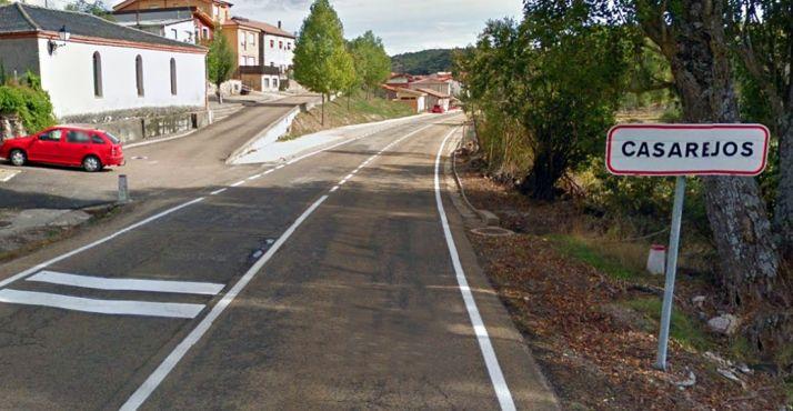 Entrada a la localidad por la SO-920./GM