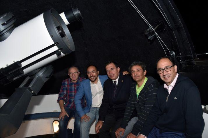 José Javier Gómez, Luis Rey, Javier Barrio, Alberto Jiménez y Manuel López.