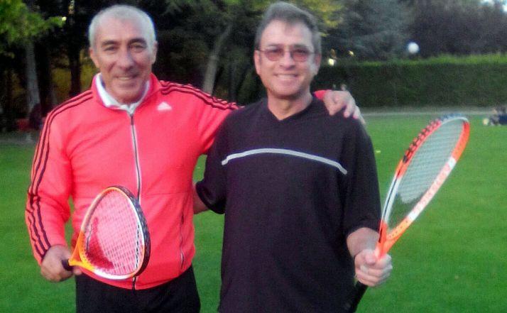 Luis López y Blas Ortega, del club soriano.