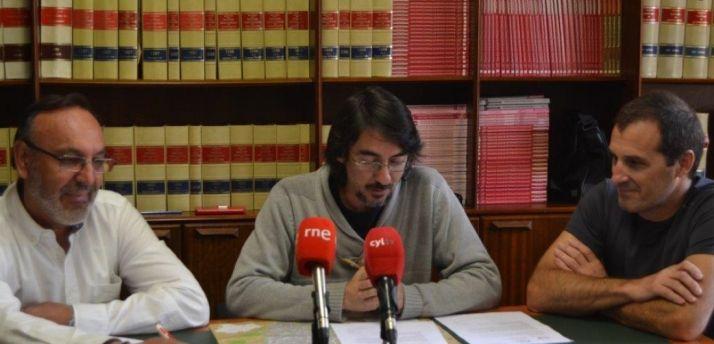 Sorian@s en rueda de prensa.