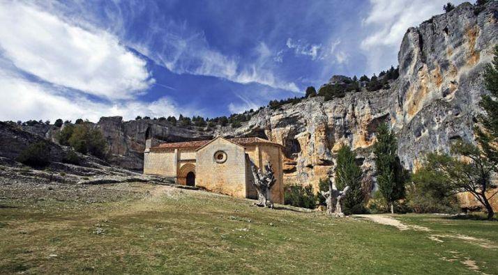 Ermita de San Bartolomé, en el Cañón del Río Lobos.