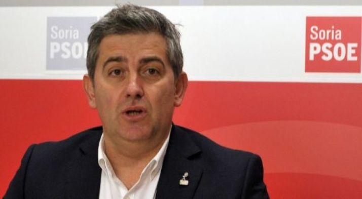 Javier Antón, diputado nacional por el PSOE de Soria./SN