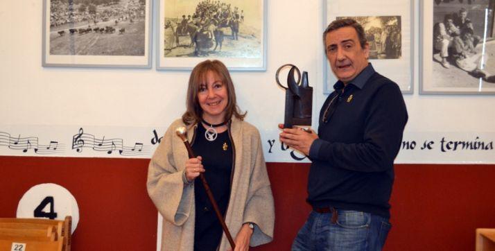 Rafael Ariza Guillén y Mª Mar Martínez Marqués. /SN
