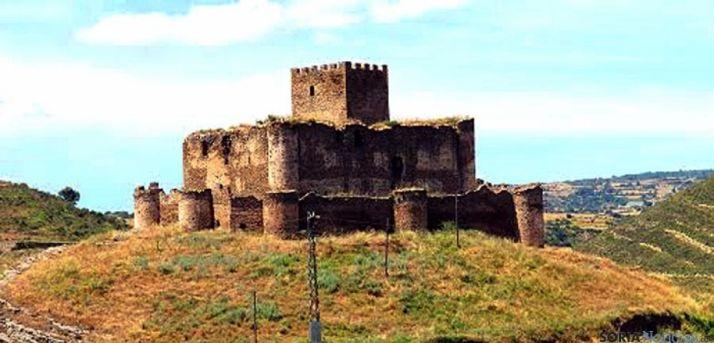 Imagen el castillo de Magaña. /SN