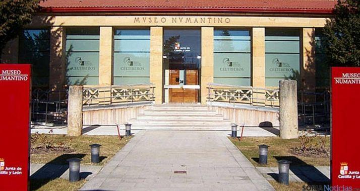 Entrada principal del museo Numantino./SN