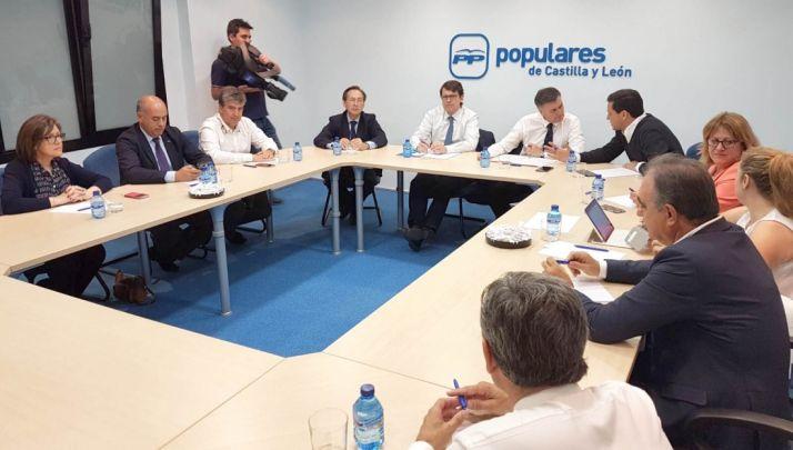 Reunión de coordinación parlamentaria del PPCYL.