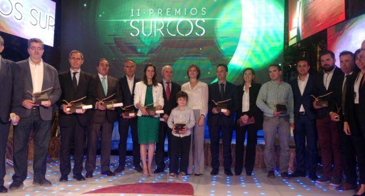 Imagen de la gala de premios.