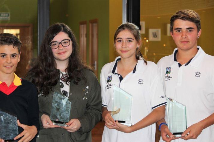 Foto 1 - Celebrado el Campeonato de dobles mixtos de Golf de CyL en Soria
