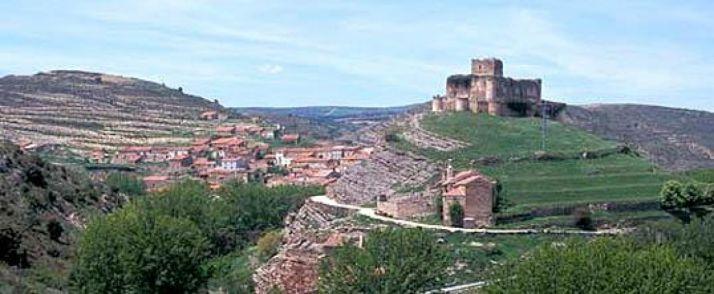 El castillo, emblema de Magaña. DS