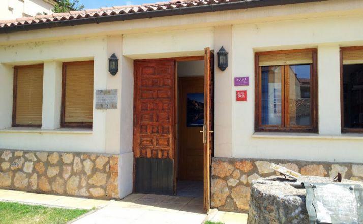 Entrada a la oficina de San Esteban de Gormaz.
