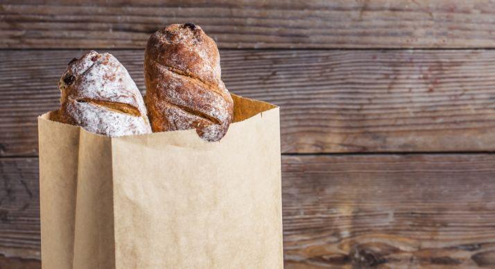 Pan elaborado artesanalmente.