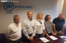 Diputados díscolos del PP de Soria