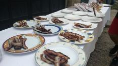 Foto 3 - Los Jurados almuerzan en la Casa de Autoridades