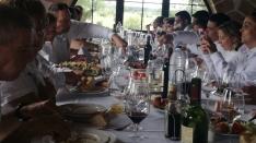 Foto 2 - Los Jurados almuerzan en la Casa de Autoridades