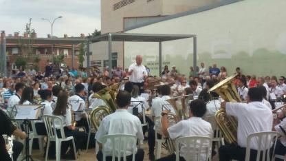 Foto 4 - La Banda cierra con éxito su primer concierto estival
