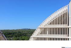 Un detalle de las cúpulas del PEMA. /SN