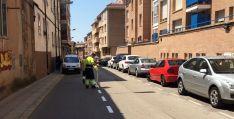 Imagen de la calle este lunes./Ayto.