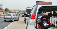 Control de drogas y alcohol en una carretera de la provincia. /SN