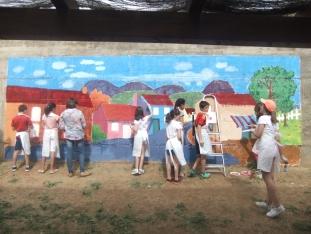 Foto 3 - Jornada de convivencia intergeneracional entre la residencia geriátrica y el colegio de Ágreda