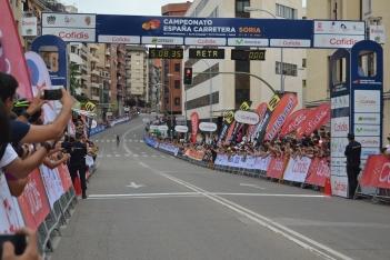 Foto 4 - Fotos: Así ha celebrado Jesús Herrada su victoria en Soria