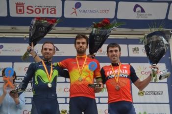 Foto 3 - Fotos: Así ha celebrado Jesús Herrada su victoria en Soria