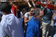 Una de las imágenes de la procesión. /SN