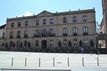 Fachada Diputación Provincial de Soria. /SN