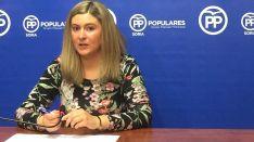 Eva García, del PP en el Ayuntamiento./