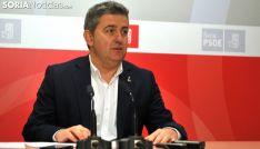 Javier Antón, diputado del PSOE soriano. /SN