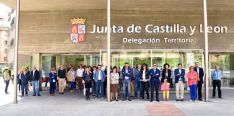 Concentración en la sede de la Delegación de la Junta. /Jta