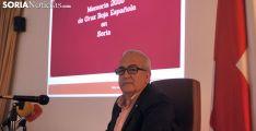 Modesto Fernández, presidente de Cruz Roja Soria este miércoles. /SN