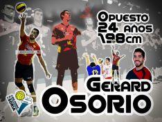 Osorio, jugador polivalente./CVRDS