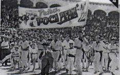 Imagen antigua de las fiestas. /ACPP