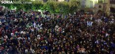 Imagen de la plaza Mayor en el Pregón de estos Sanjuanes 2017. /SN