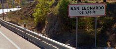 Imagen de la señalización de tráfico a la entrada de la localidad en la N-234. /SN