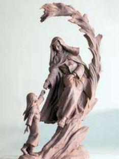 Boceto de la estatua./ST