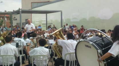 Foto 6 - La Banda cierra con éxito su primer concierto estival