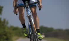 Ciclista en ruta